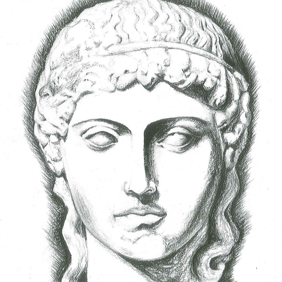 Greek Statue Study