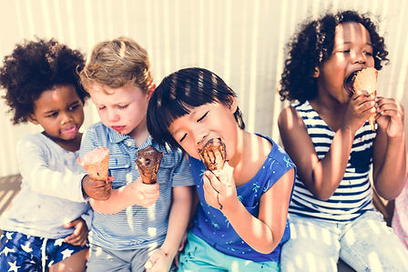 Little kids eating yummy ice cream.jpg