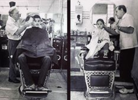 The Father and Son Haircut