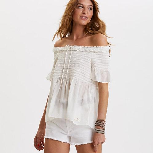 Odd Molly 619M-454 majestic blouse light chalk