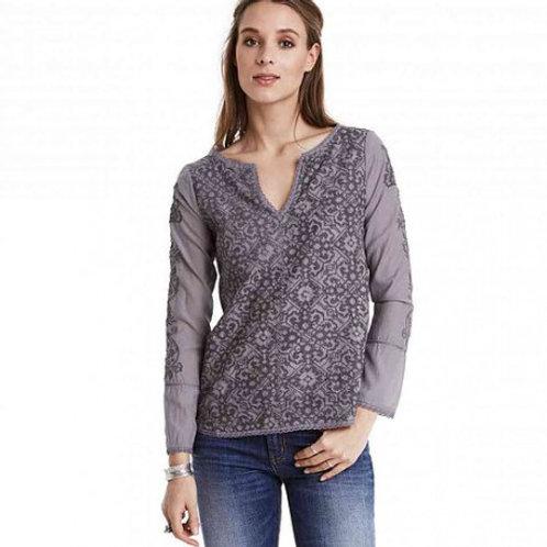 Odd Molly 116M-136 brentwood shirt mid grey