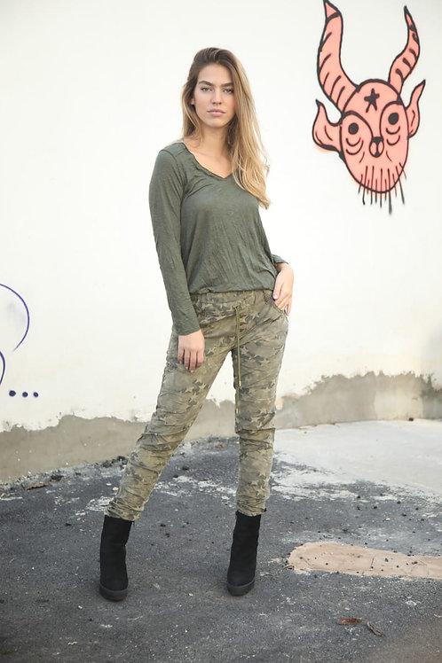 Bianco Jeans Whitney Yoga Olive 221309