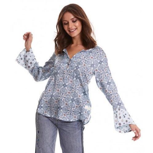 Odd Molly 119M-602 unsilent night blouse
