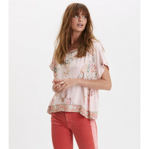 Odd Molly 319T-473 paradise groove s/s blouse