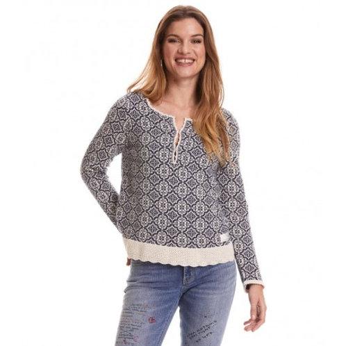Odd Molly 119M-081 treasure tile sweater