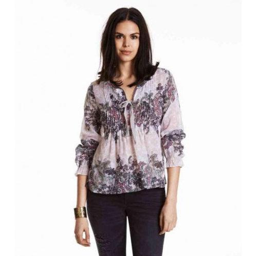 Odd Molly 615M-609 caribou l/s blouse