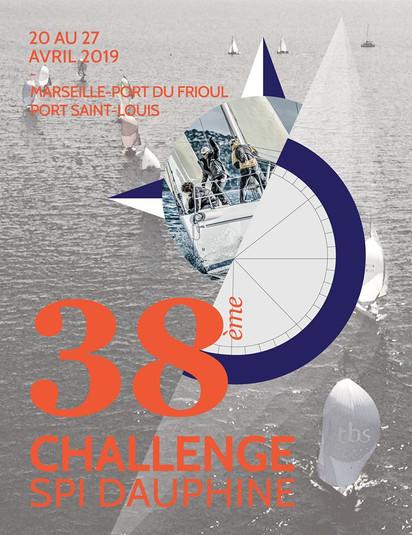 Découvrez l'affiche officielle du 38e Challenge Spi Dauphine