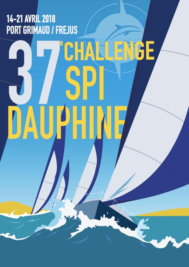 affiche du 37e Challenge Spi Dauphine