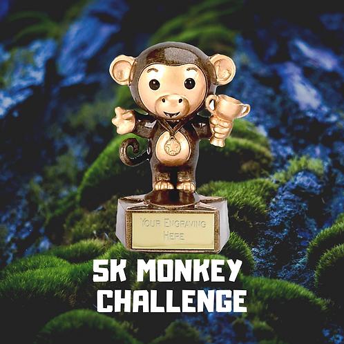 5 K MONKEY RUN CHALLENGE