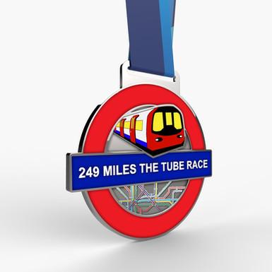 249 MILES LONDON TUBE RACE