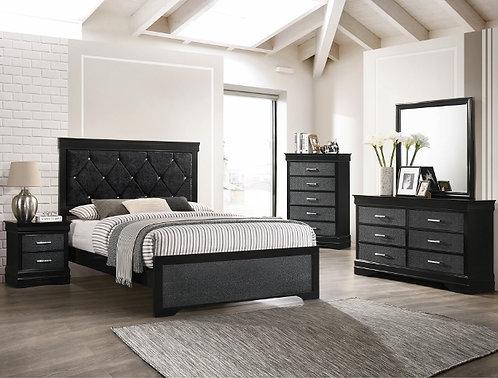 AMALIA BLACK BEDROOM