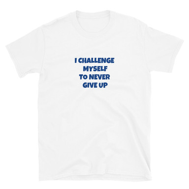 Never Give Up Unisex Top