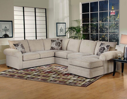 9900 Ridge Chocolate Sectional