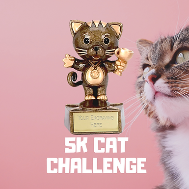 5 K CAT RUN CHALLENGE