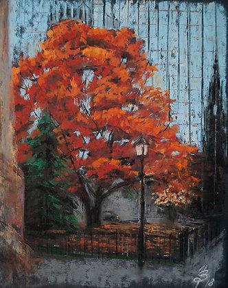 Fall tree and its neighbors 3