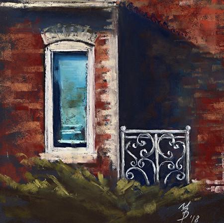 Blue Window 2018