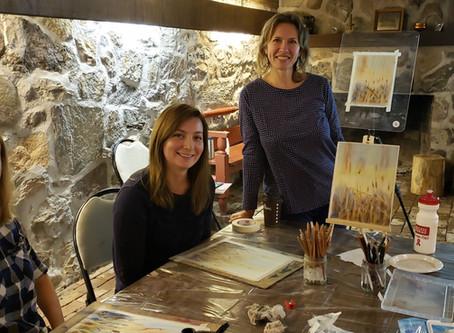 Art workshops in Waterloo