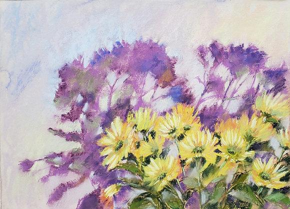 Yellow chrysanthemums 2