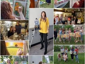 Yulia Balobanova Art Workshops of 2020