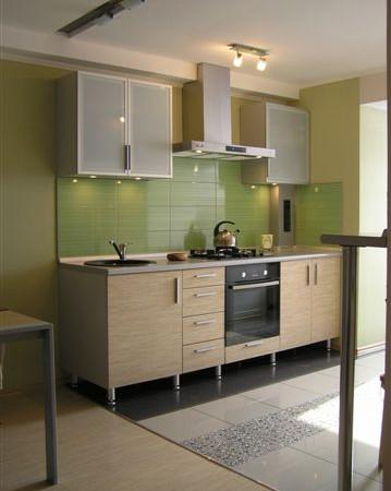Small kitchen in a studio