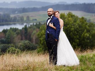 plener ślubny w Suwalskim Parku Krajobrazowym