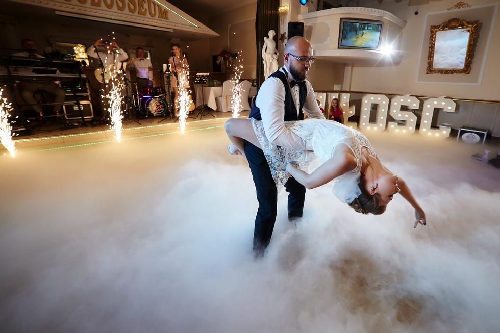 pierwszy taniec cieżki dym Olecko