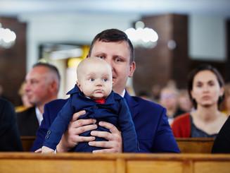 chrzest dziecka Olecko, fotograf