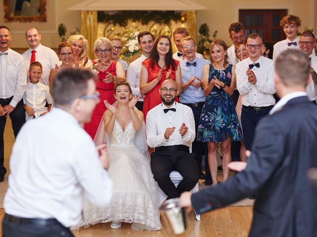emocje  radośc na weselu