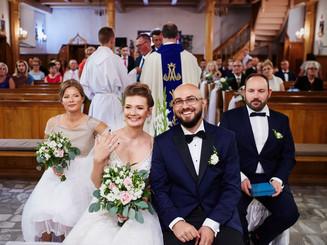 ślub kościelny w Olecku fotograf