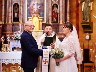 slub w kościele Augustów studzienizna fotograf olecko