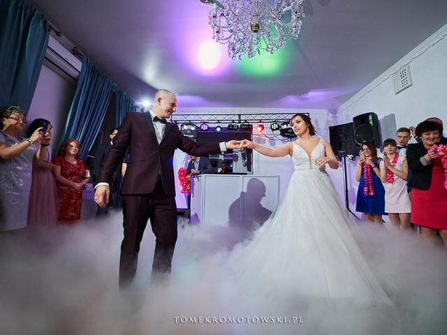 pierwszy taniec cieżki dym fotograaf olecko suwałki