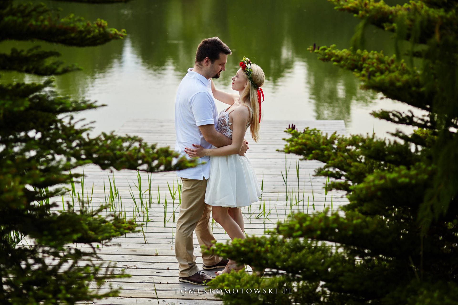 miłość nad jeziorem Olecko