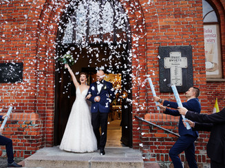 ślub kościół podwyższenia Krzyża Olecko