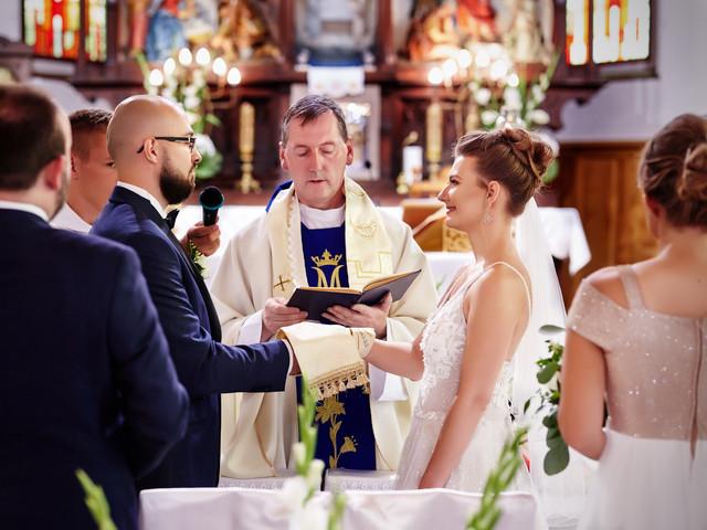 przysięga małżeńska kościół Olecko