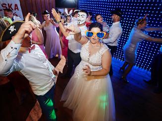 impreza weselna panna młoda olecko