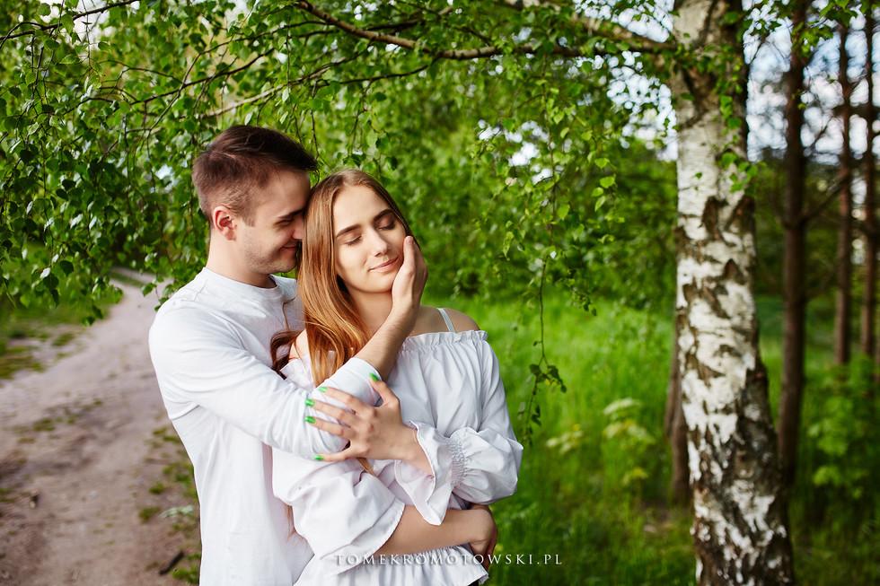 radość i emocje na sesji zdjęciowej Olecko Suwałki