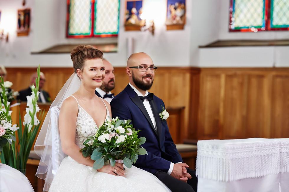 ceremonia ślubna Olecko