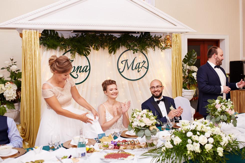 początek wesela