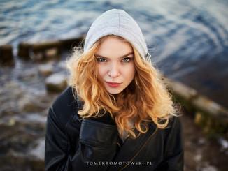 zimowy portret w Olecku