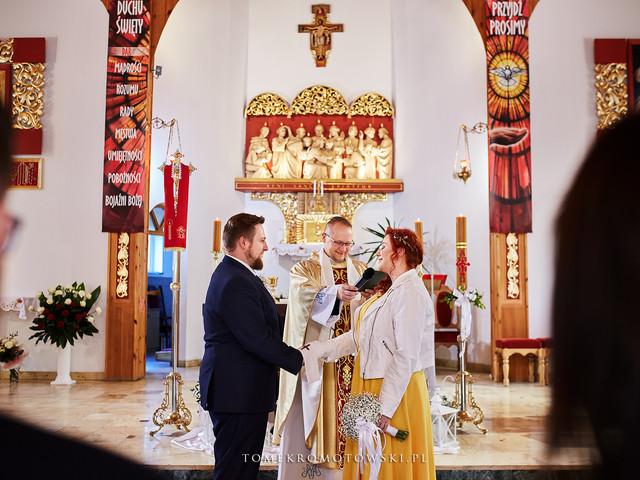 ceremonia ślubna giżycko fotograf