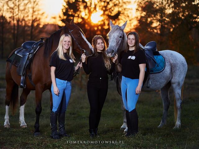 fotograf olecko konie