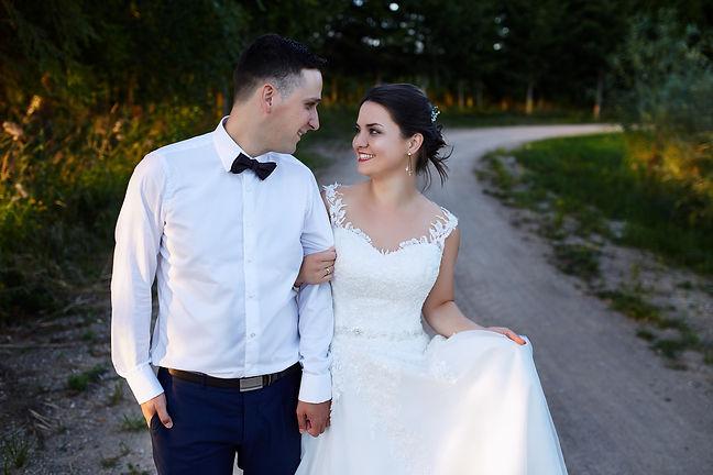 sesja ślubna plenerowa w Olecku