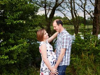 radosna ciąża sesja foto