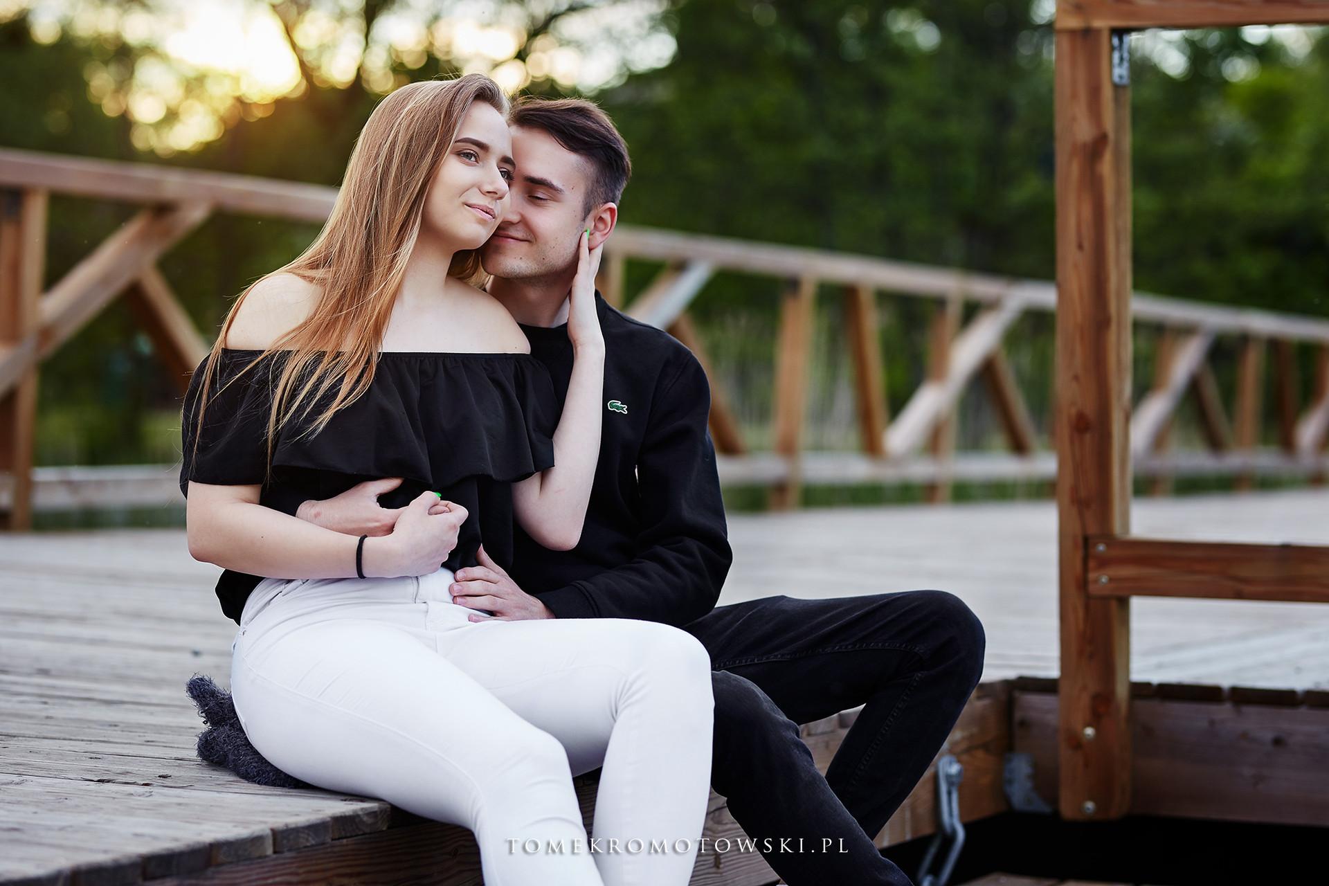 Sesja dla dwojga zakochanych w Olecku