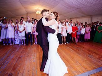 pierwszy taniec pary młodej Augustów