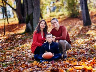 sesja rodzinna fotogra olecko jesień