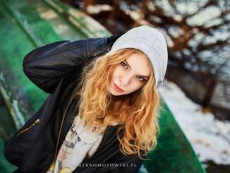 Olecko zima portret
