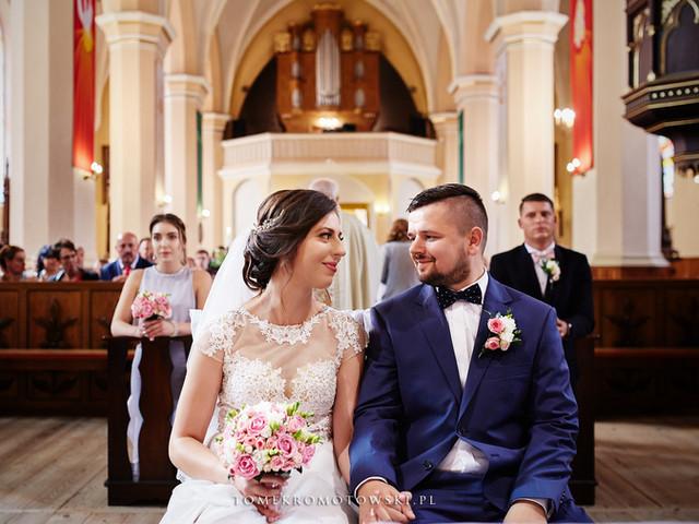 piękny ślub w Suwałkach, fotograf Olecko Suwałki Augustów