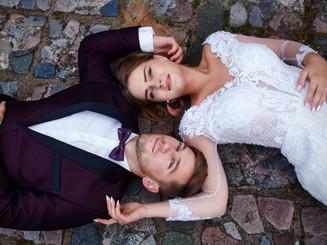 zakochani na sesji zdjęciowej Suwałki Olecko