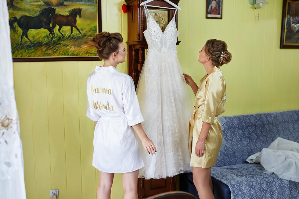suknia ślubna panna młoda Olecko